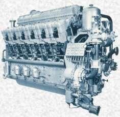 Un moteur diesel Crédits : http://www.netmarine.net