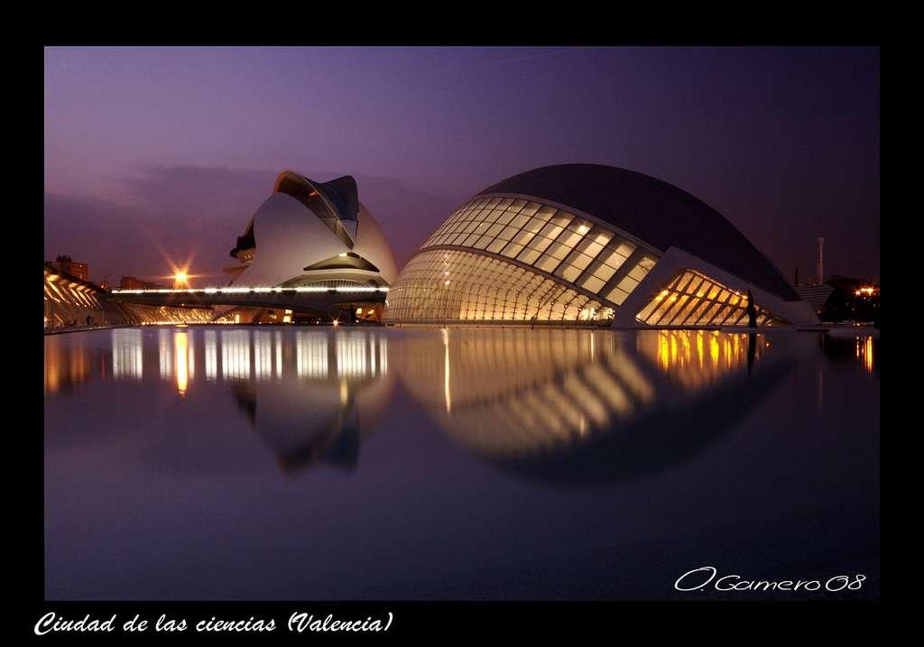 La Cité des arts et des sciences de Valence, de Calatrava et Candela