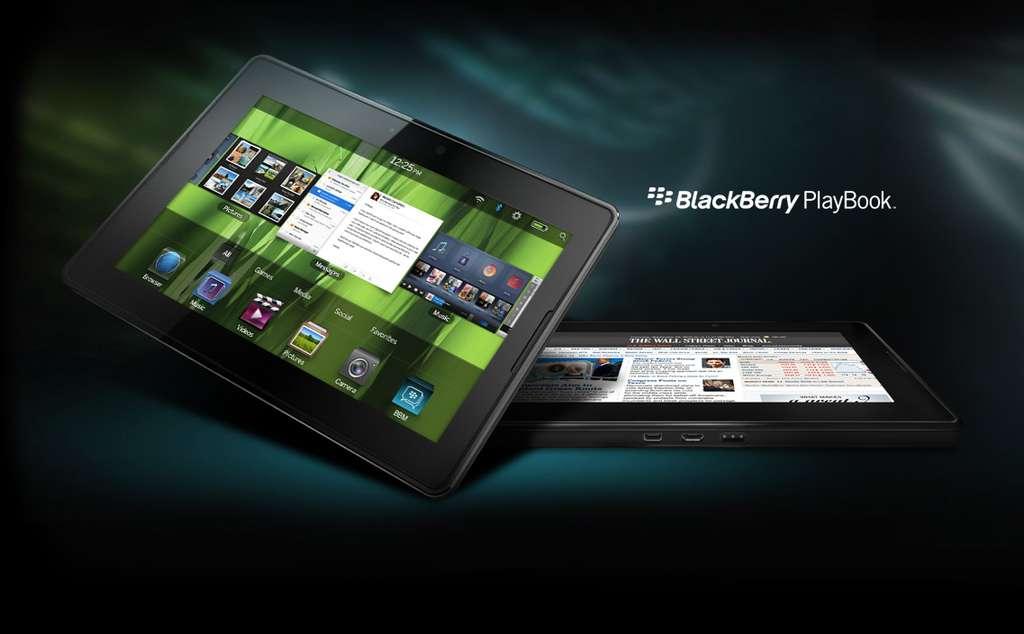 Pas d'applications bureautiques essentielles ni de connexion téléphonique intégrée pour le PlayBook. © DR