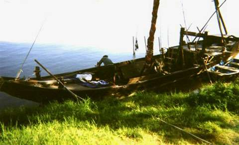 Chaland de Loire par l'Association Marine de Loire