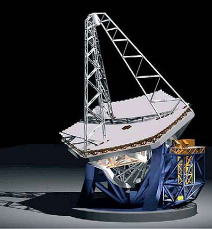 ELT, projet européen, télescope de 50 mètres. © Reproduction et utilisation interdites