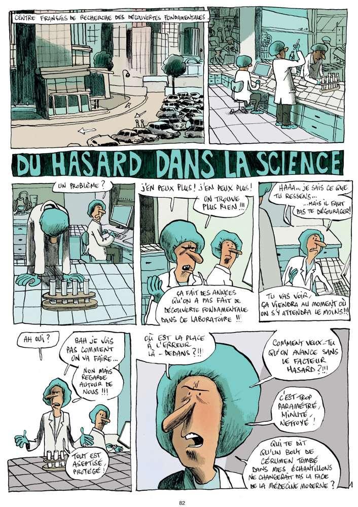 Histoire tirée du hors-série Sciences de Fluide Glacial, en kiosque le 31 mars 2011. © Guillaume Bouzard et Fluide Glacial 2011