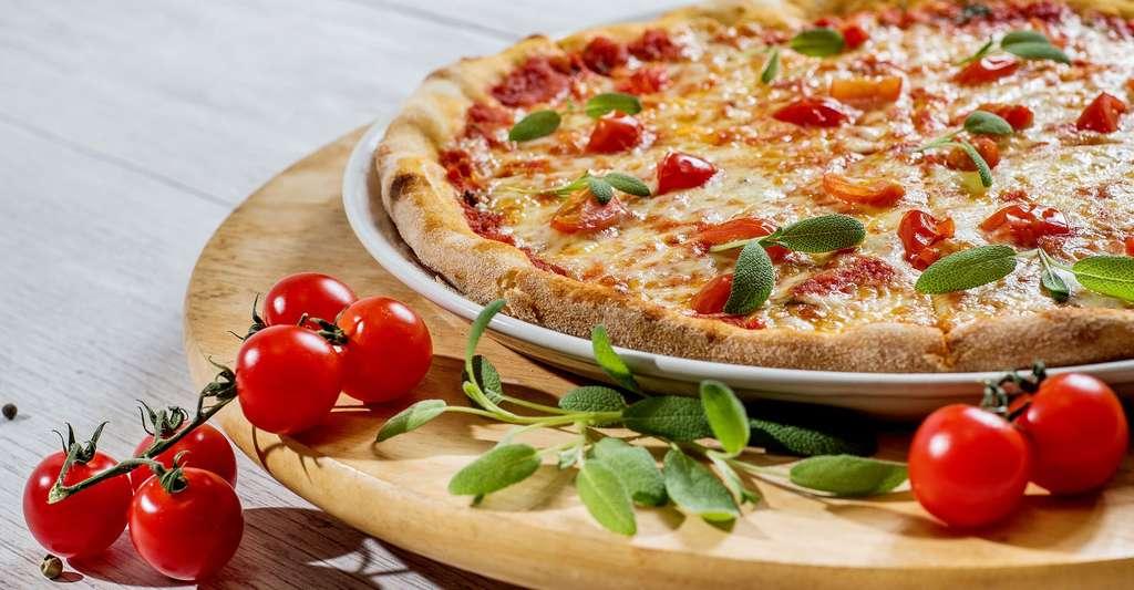 Gourmande, la pizza ! © Zuzi99, Pixabay, DP