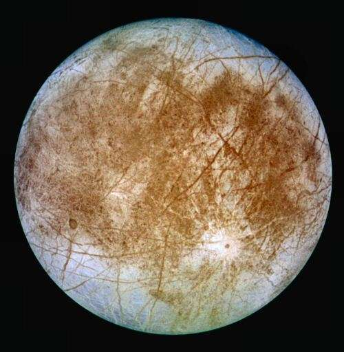 Europe, satellite de Jupiter. © DR