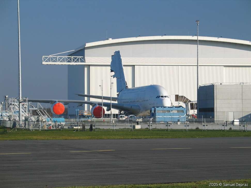 L'Airbus A380 se dévoile