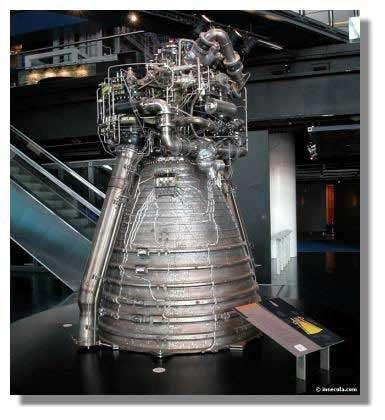 Le moteur Vulcain de la fusée Ariane 5 utilise la propulsion cryogénique
