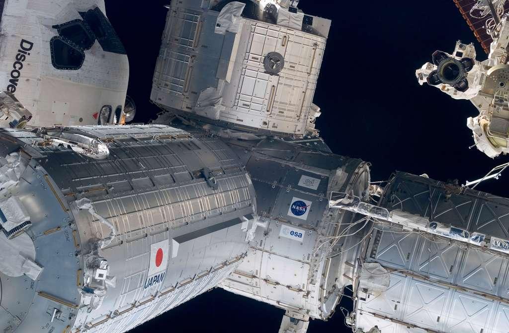 Juin 2008 : Installation du segment japonais de l'ISS