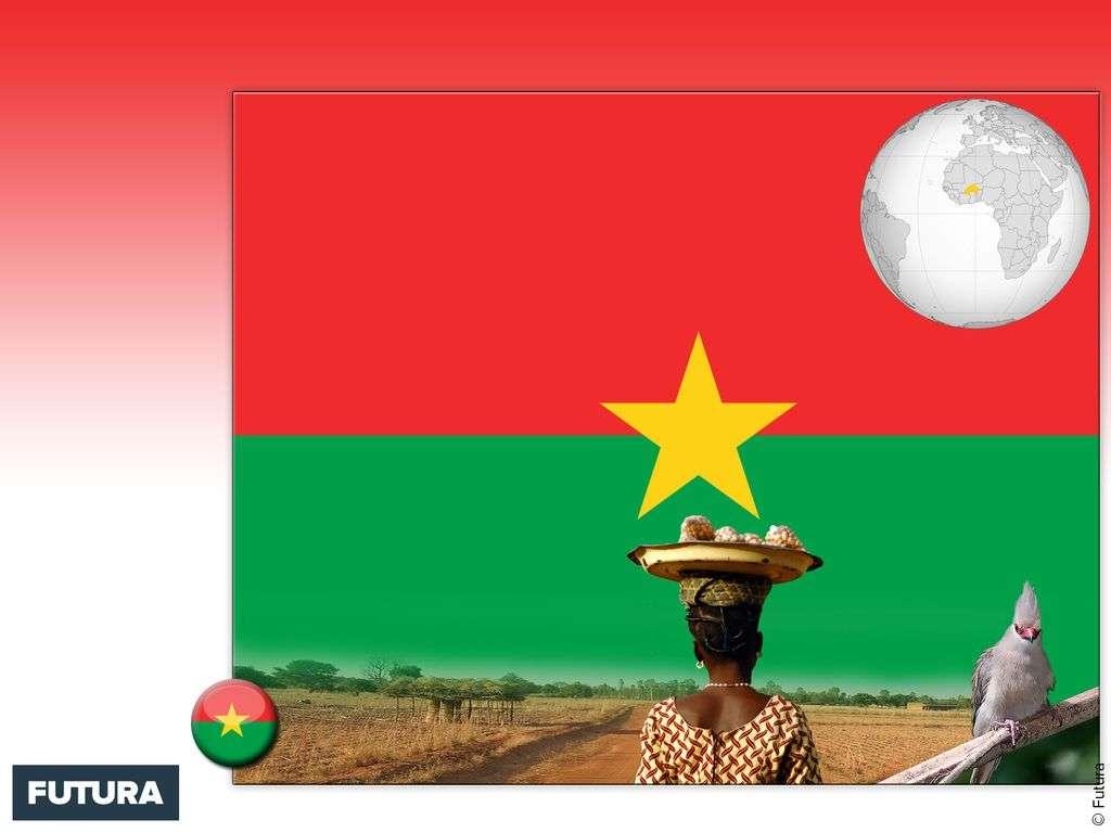 Drapeau : Burkina Faso