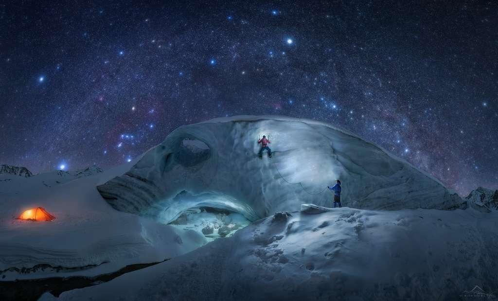 « Voie Lactée hivernale ». © Nicholas Roemmelt