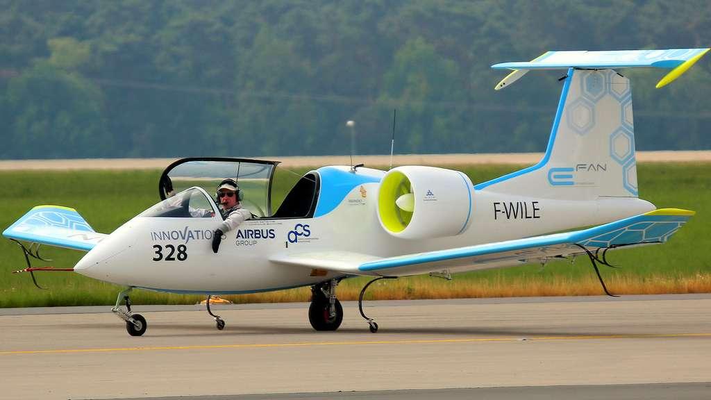 L'E-Fan d'Airbus, un avion 100 % électrique