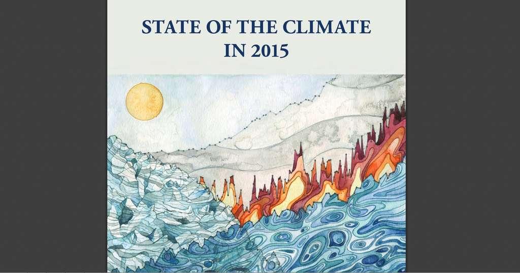 Le rapport sur l'état du climat, publié par la NOAA, est disponible en anglais, au format PDF (voir le lien dans le texte). © NOAA