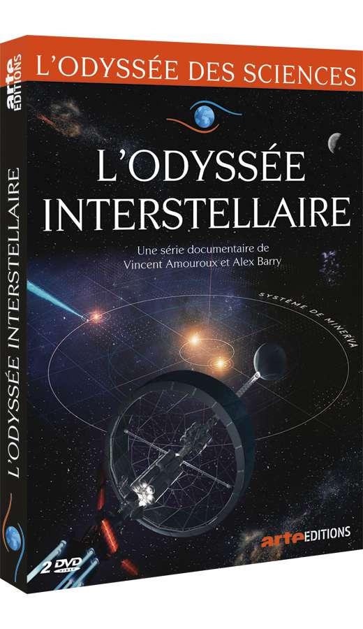 L'Odyssée interstellaire, une série documentaire disponible sur arte.tv jusqu'au 8 octobre 2019 ou en DVD sur Arte Boutique. © Arte