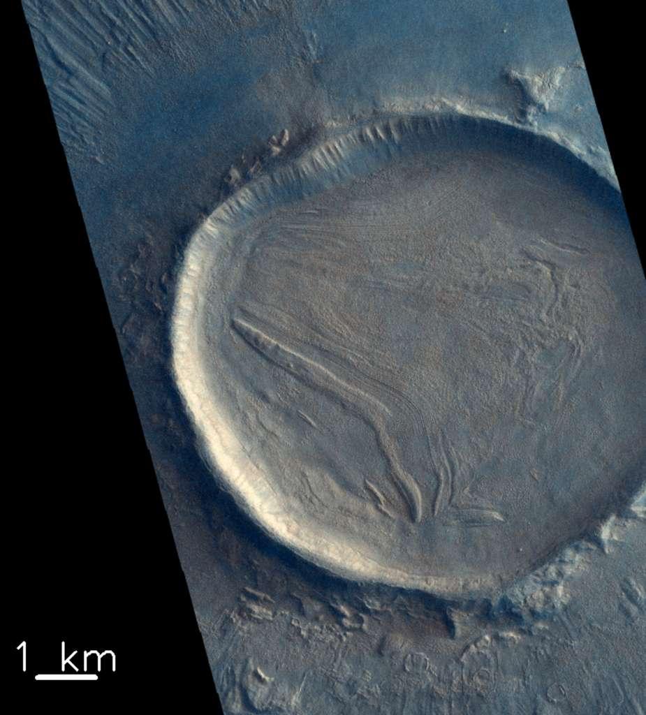 Image réalisée le 3 juillet 2019 par ExoMars Trace Gas Orbiter (TGO). © ESA/Roscosmos/CaSSIS, CC BY-SA 3.0 IGO