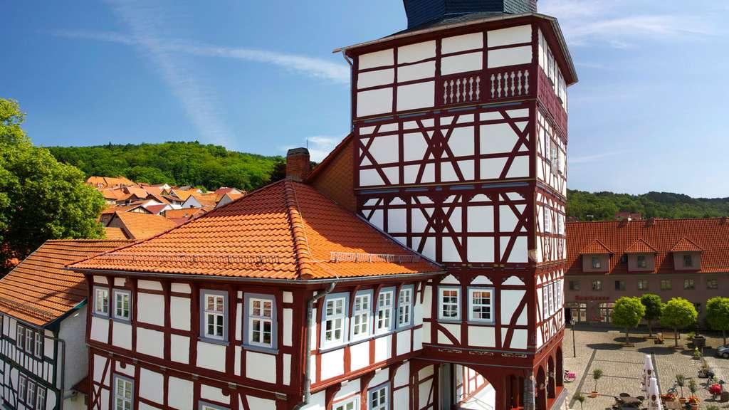 En Allemagne, un hôtel de ville typique des Rathaus