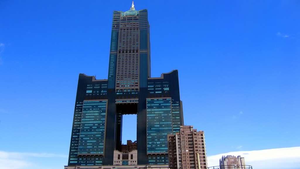 La Tuntex Sky Tower, à Taïwan