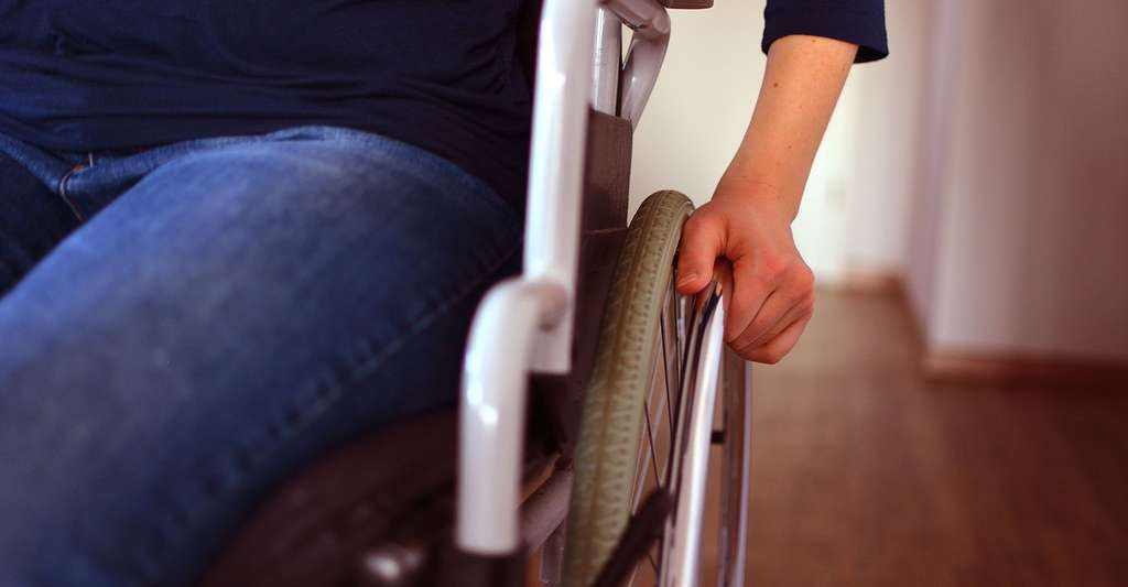 La paralysie peut être la conséquence d'un AVC. © Asbe24, Fotolia