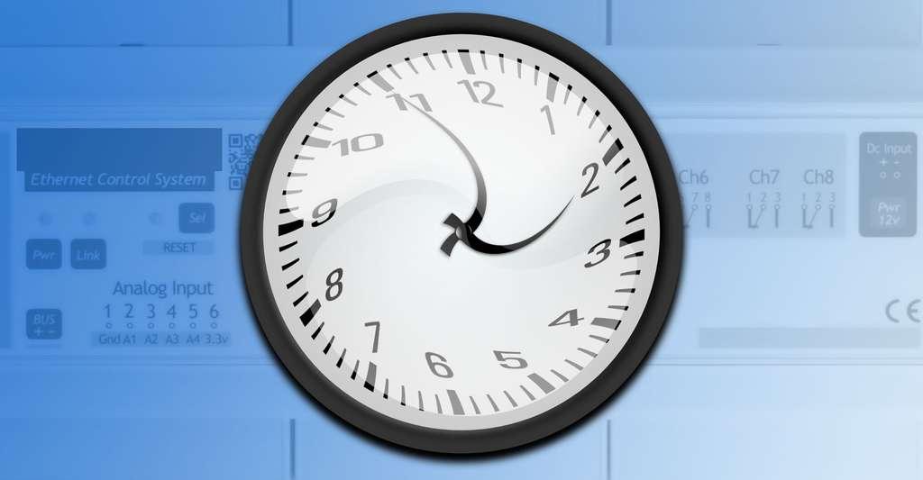 L'horloge programmable permet d'adapter la consommation d'énergie en fonction des plages horaires ou des périodes. © OpenClipartVectors - Shutterstock