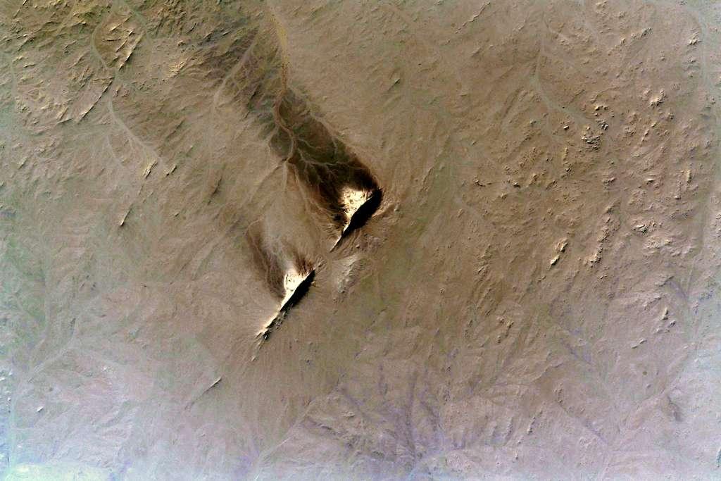 Un bout de désert, photographié par Thomas Pesquet, en mai 2021. © Esa, Nasa, Thomas Pesquet