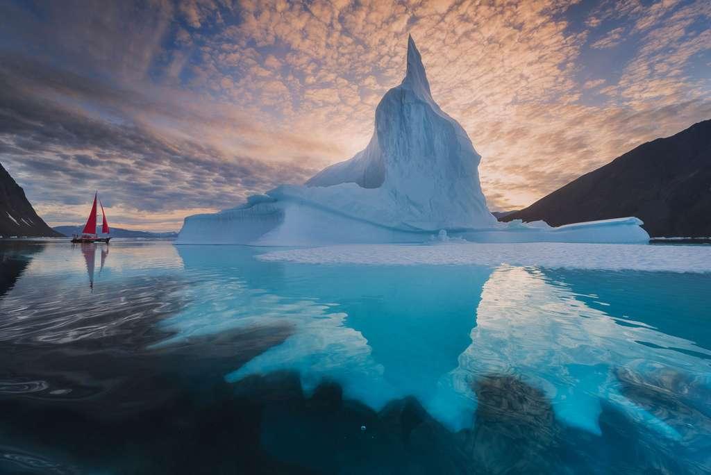 Le Groenland souffre du réchauffement climatique