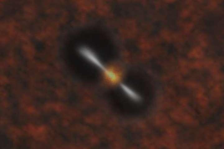 Éruption d'un trou noir supermassif 3/4