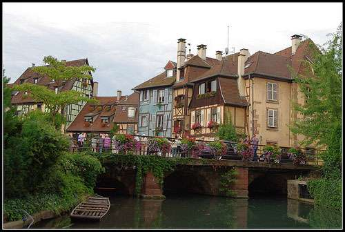 Photographie de la Petite Venise, à Colmar. © Spiterman, Flickr, licence Creative Common (by-nc-sa 2.0)