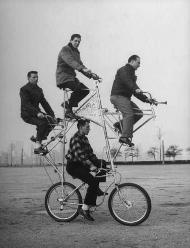 Un vélo surprenant !