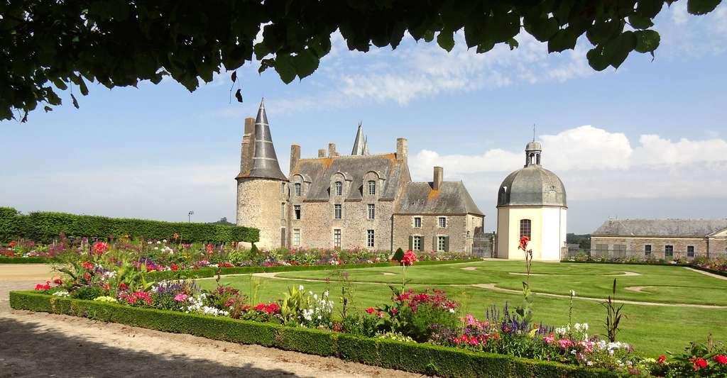 Jardin et château des Rochers-Sévigné, près de Vitré. © Fanchonline, CC by-sa 3.0