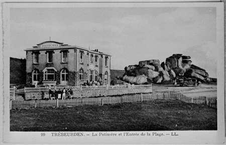Trébeurden, La Potinière, début du XXème siècle.