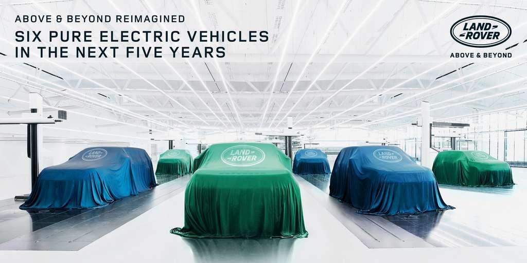 La marque Land Rover aura droit à son tout premier modèle électrique à partir de 2024. © Jaguar Land Rover