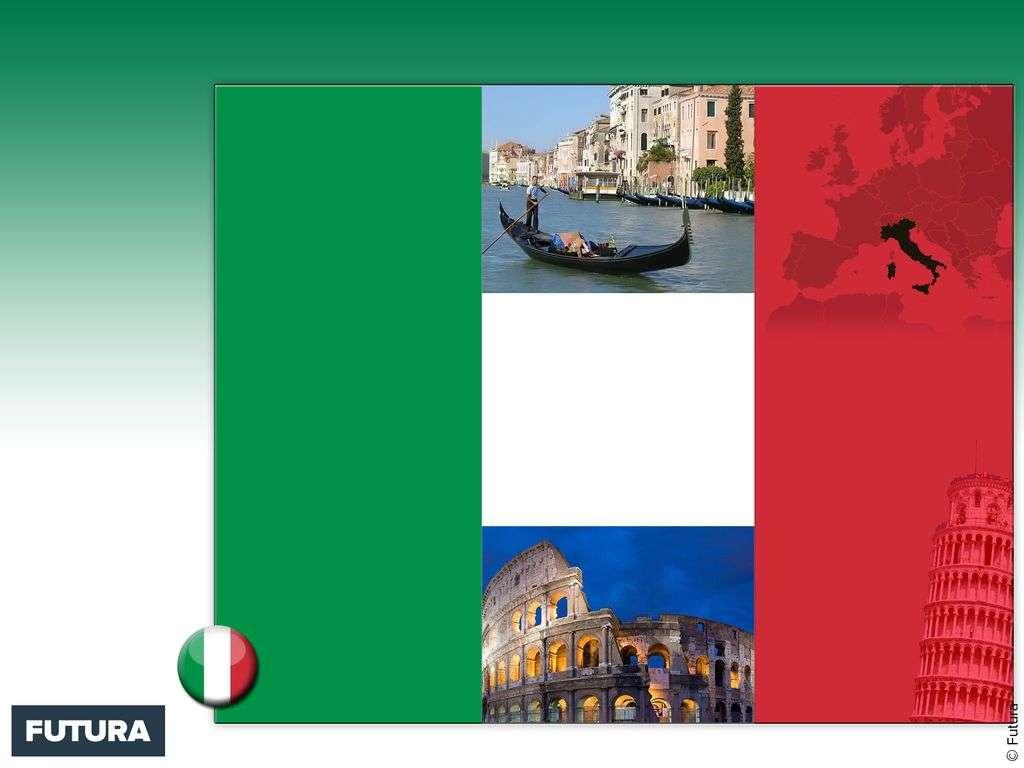 Drapeau : Italie