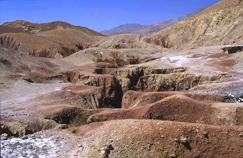 Mines de sel au Maroc