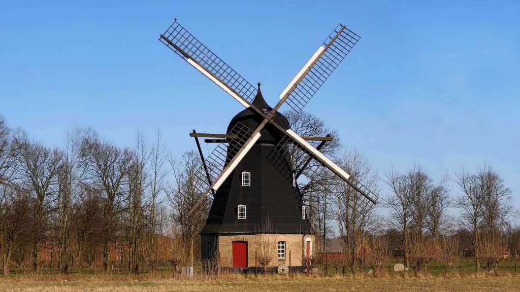 Le moulin à vent de Flackarp, Suède