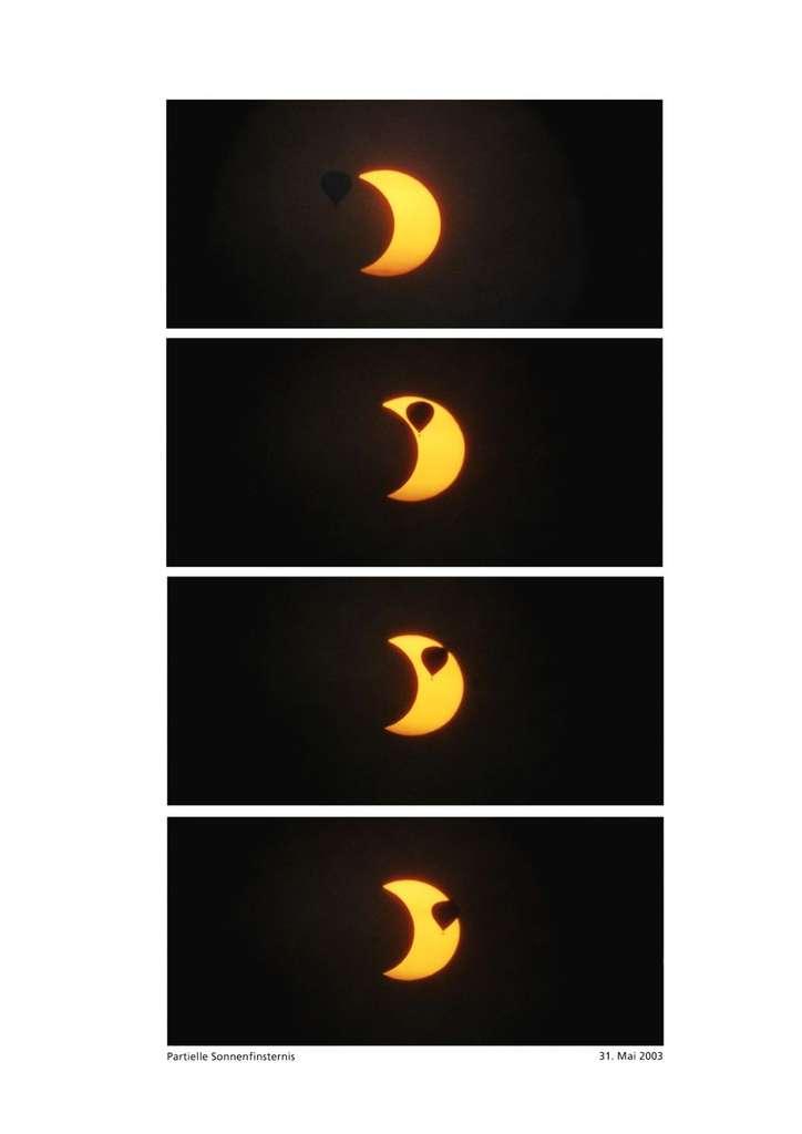 Eclipses solaires partielles