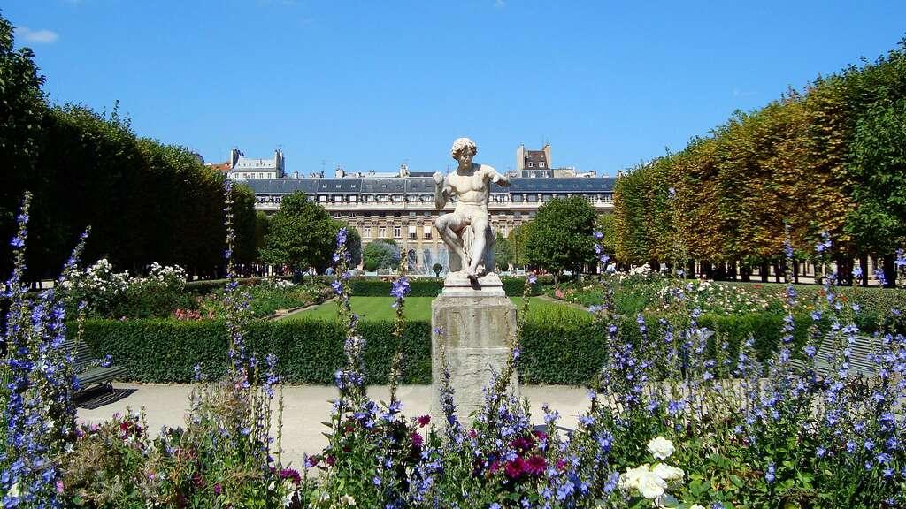 Les jardins du Palais-Royal, un havre de paix