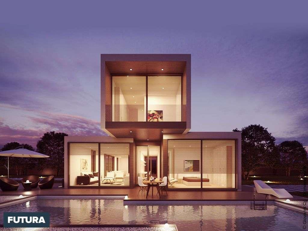 Maison cube pour une proximité plus proche de la nature