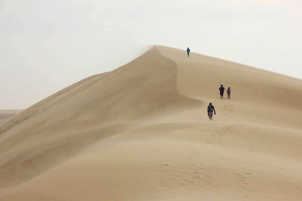La Dune du Pilat, un petit air de désert namibien. © Philippe Pouvreau, Flickr