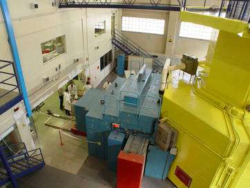 Le réacteur de Pavie, vue externe. © INFN