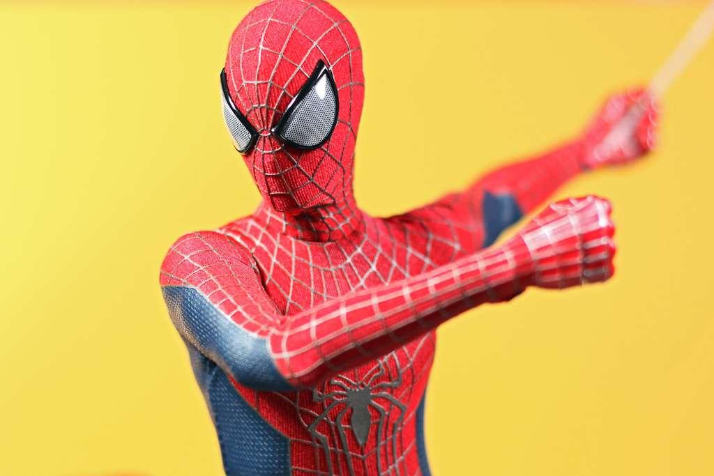 Spiderman, aussi fort contre les méchants que contre les phobies. © Trollan Magician, Flickr