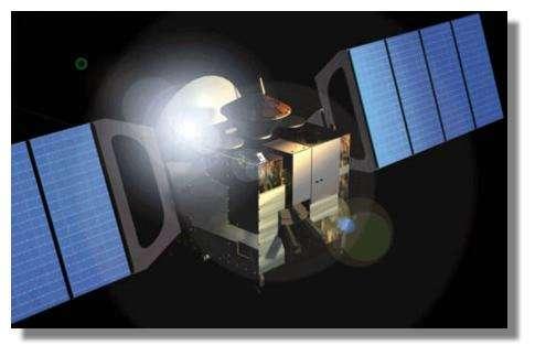 Mars Express en route vers Mars © ESA