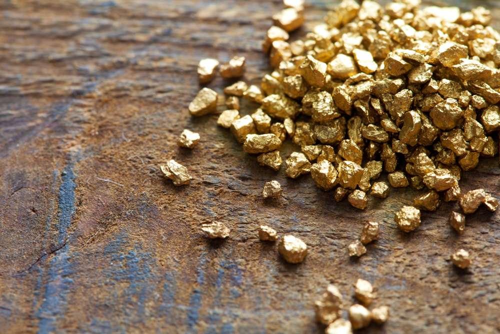 L'or est un matériau difficile à extraire, mais facilement recyclable. © Or du monde