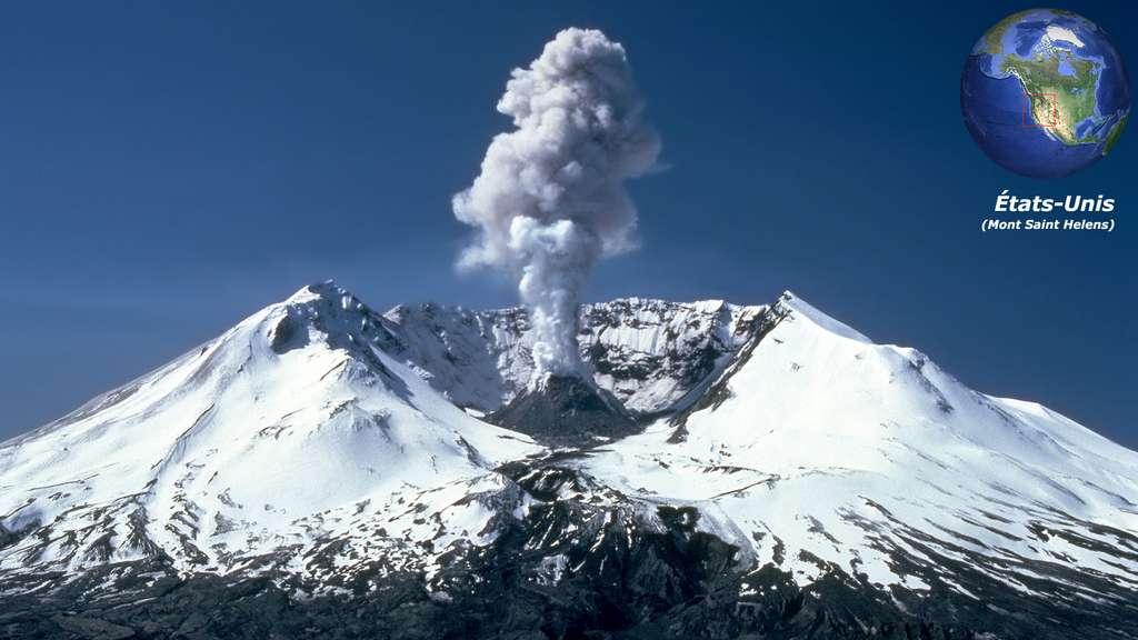 Le Mont Saint Helens, un stratovolcan américain