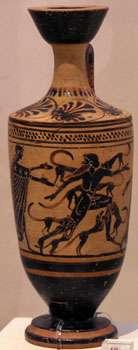Actéon dévoré par ses chiens musée Athènes