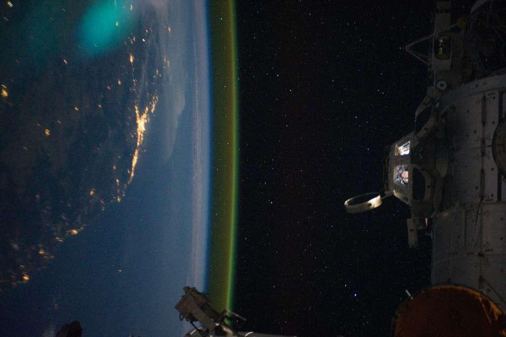 L'ISS et l'Australie depuis l'espace