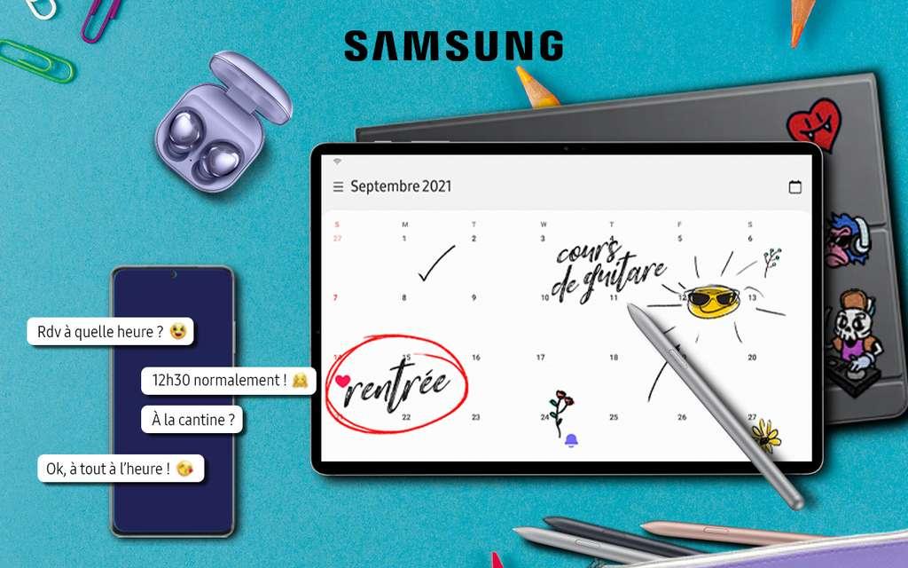 Des promotions irrésistibles pour la rentrée avec l'opération Back to school de Samsung ! © Samsung