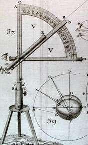 Astronomie et géodésie vont de pair. © DR
