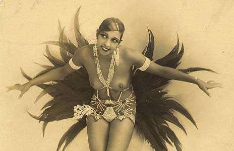 Joséphine Baker est une artiste emblématique des années folles, qui correspondent aux années 1920. © Walery French, Wikimedia Commons, DP