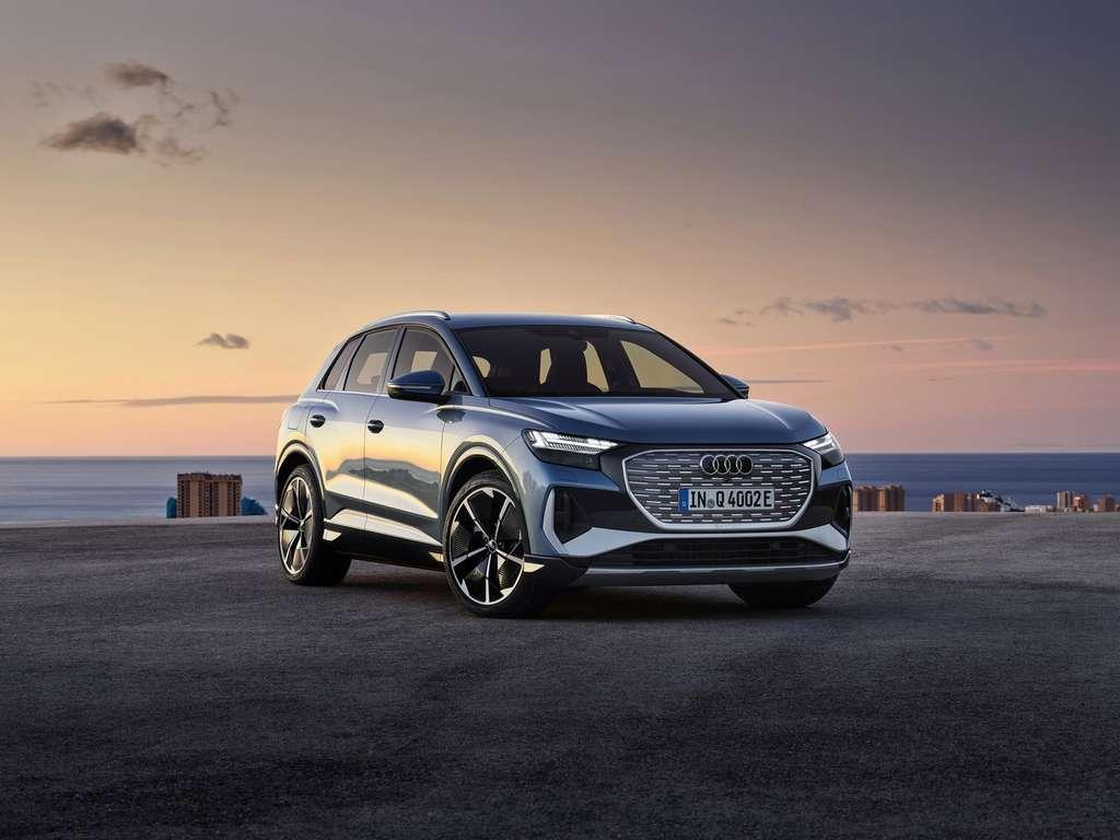 Audi Q4 e-tron. © Audi
