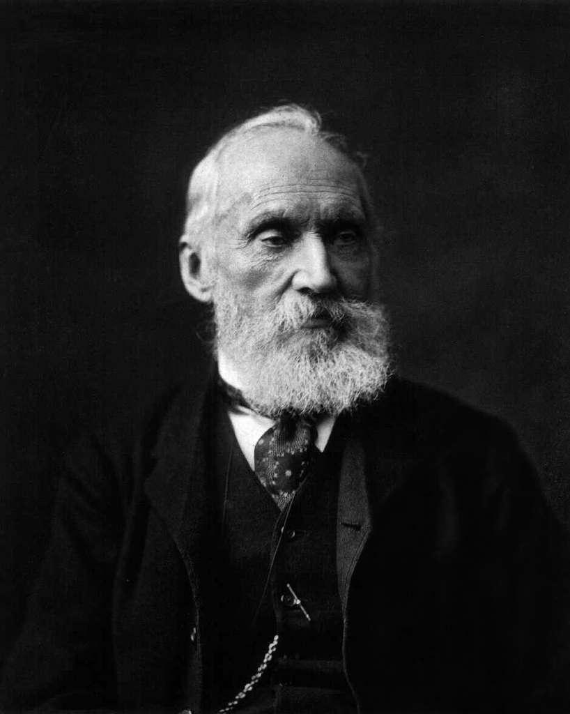 William Thomson, alias lord Kelvin, était un ingénieur et un physicien britannique ayant apporté de multiples contributions aux sciences physiques. On lui doit d'avoir initié la théorie des nœuds. © DP