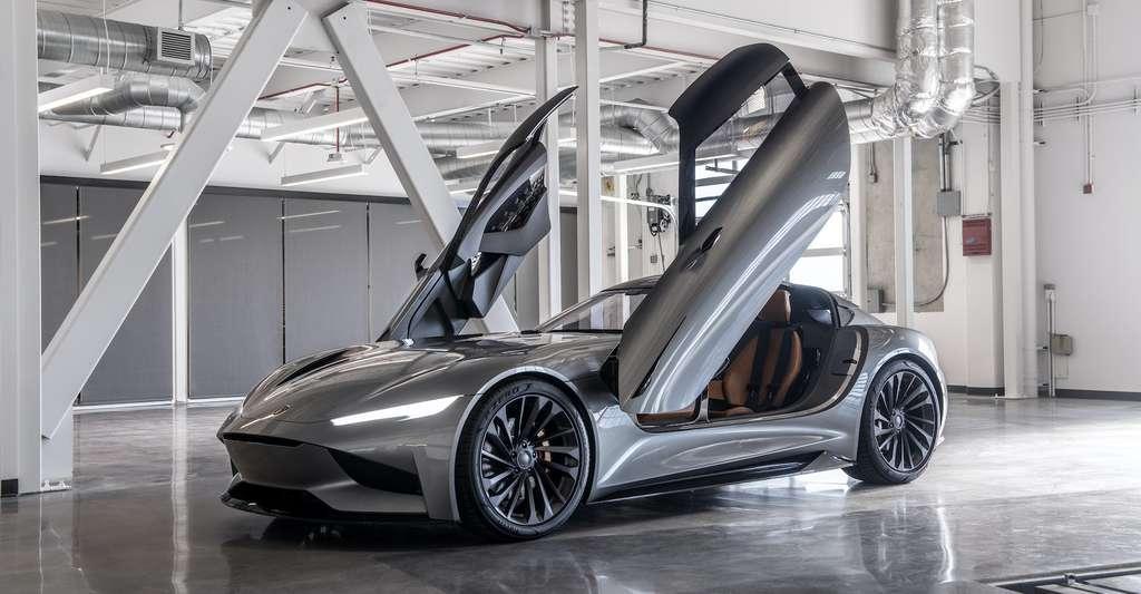 Le SC2, successeur du concept SC1 de Karma. © Karma Automotive