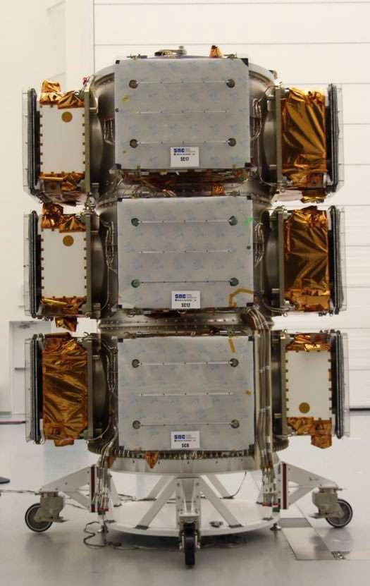 Les satellites OG2 de la constellation Orbcomm seront lancés le 19 décembre par SpaceX. © Orbcomm, Mark Eisenberg